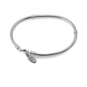 Pandora Silver Charm Bracelet With Lobster Clasp