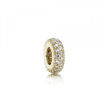 Pandora Inspiration Within Spacer 14K Gold CZ