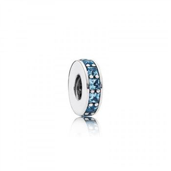 Pandora Eternity Spacer Sky-Blue Crystal