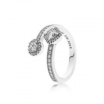 Pandora Abstract Elegance Clear CZ
