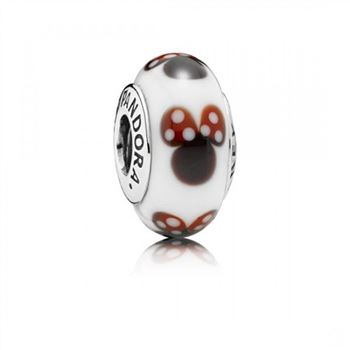 Pandora Classic Disney Minnie Murano Glass